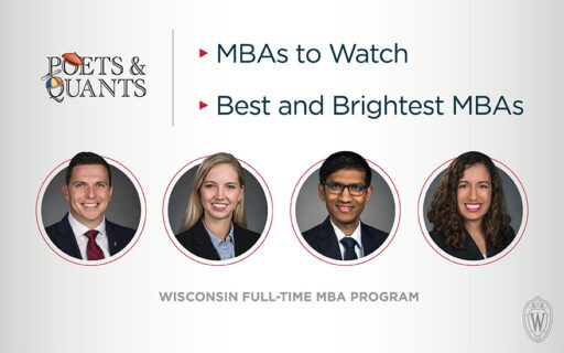 Four MBA students honored by Poets&Quants