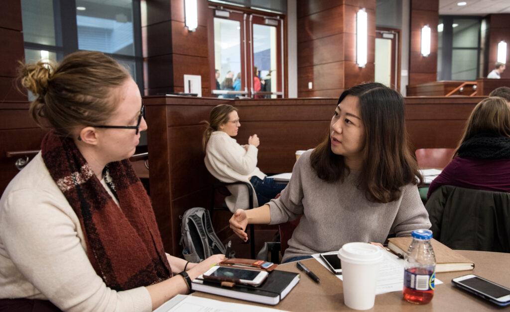 Students at a Leadership Symposium