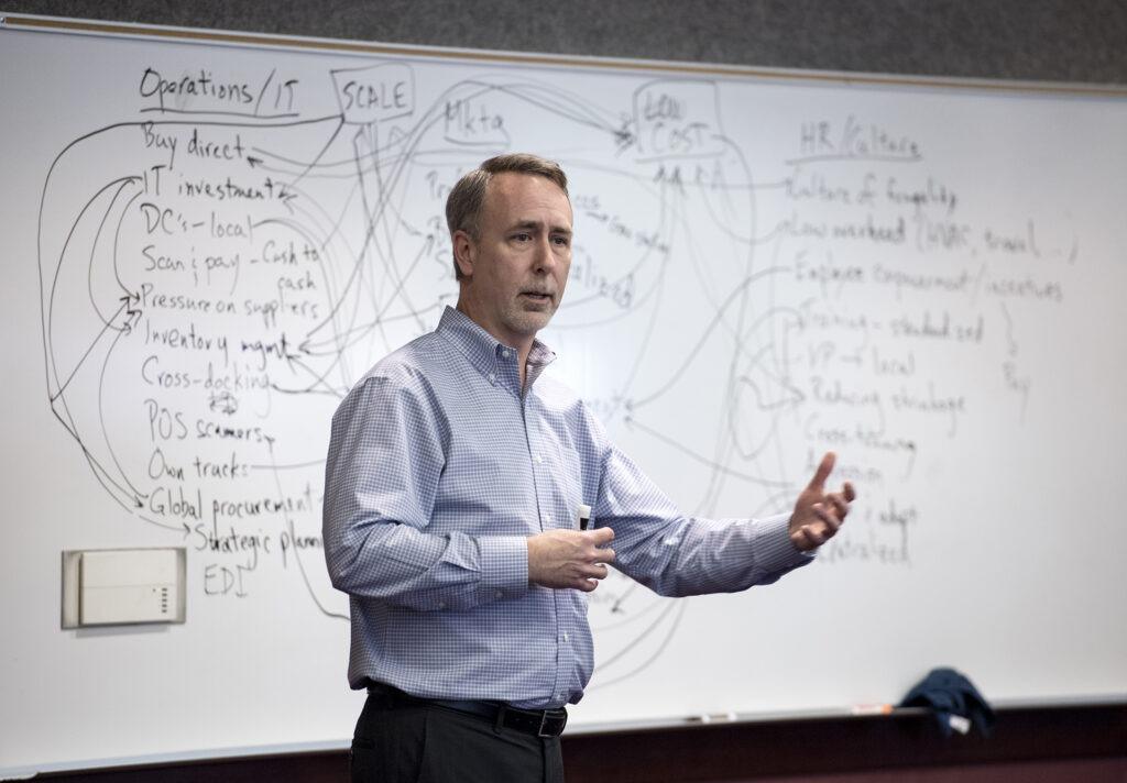 Greg Decroix teaching a class