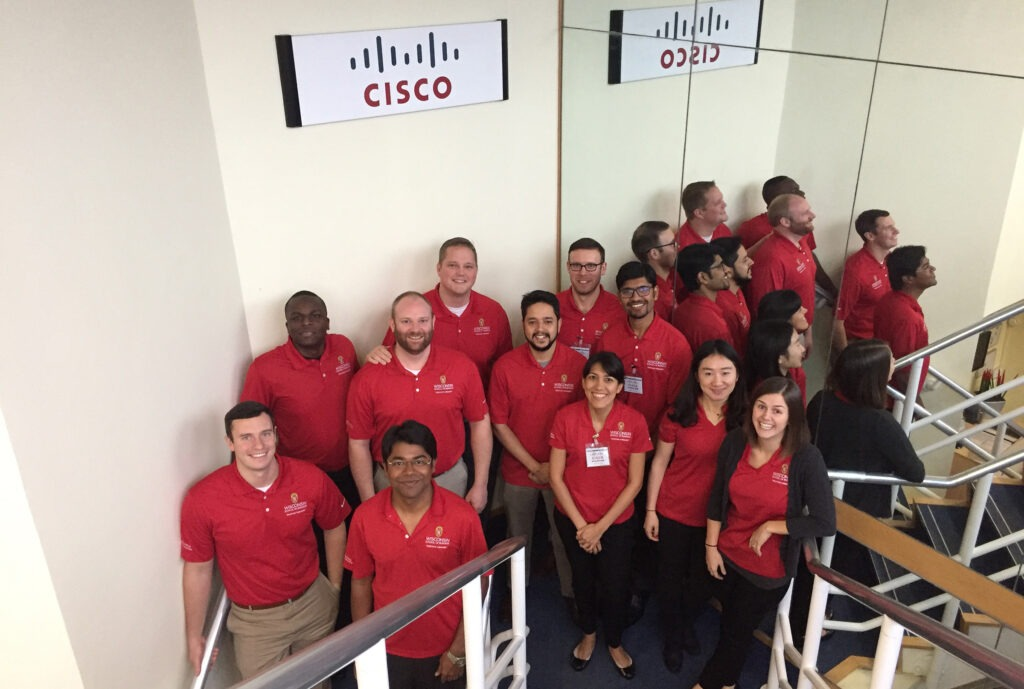 Supply Chain MBA students visit Cisco