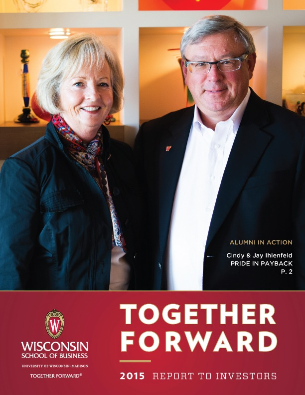 Together Forward: 2015 Report to Investors