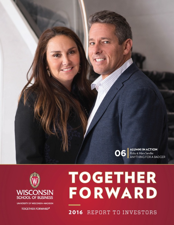 Together Forward: 2016 Report to Investors