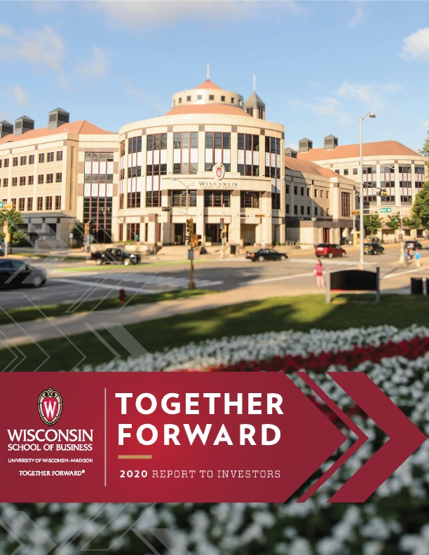Together Forward: 2020 Report to Investors