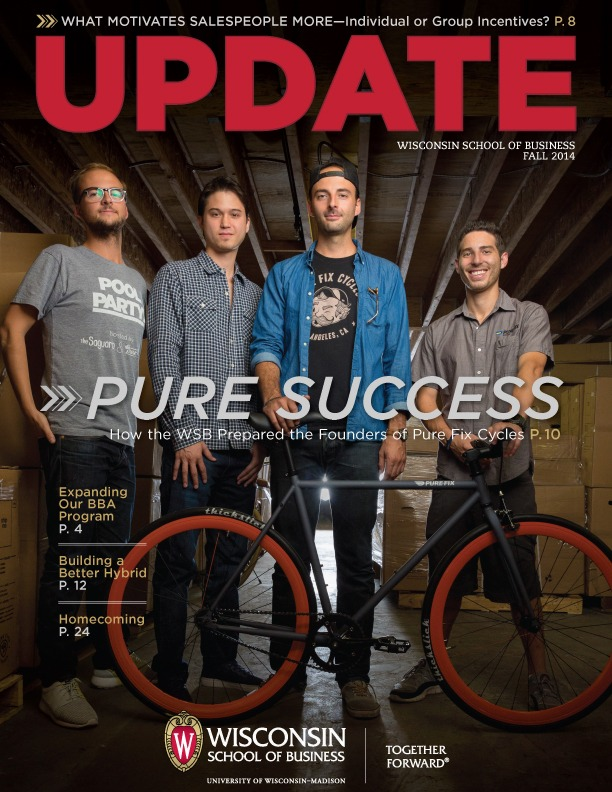 Cover of the Fall 2014 Update Magazine
