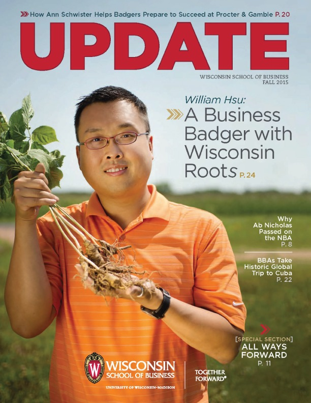 Cover of the Fall 2015 Update Magazine
