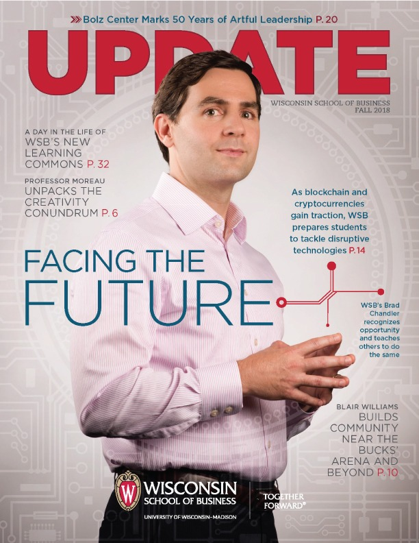 Cover of the Fall 2018 Update Magazine