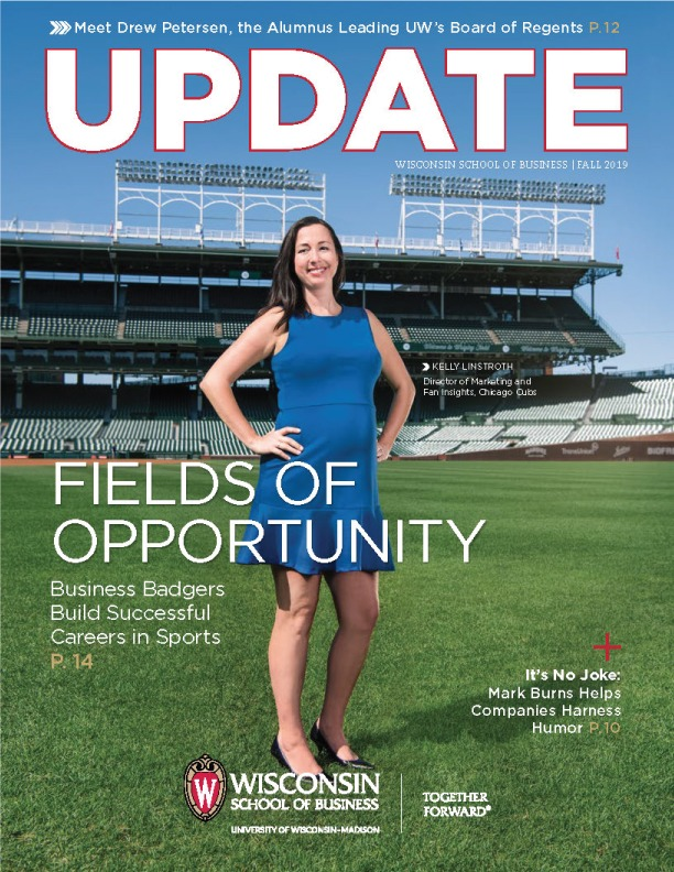 Cover of the Fall 2019 Update Magazine