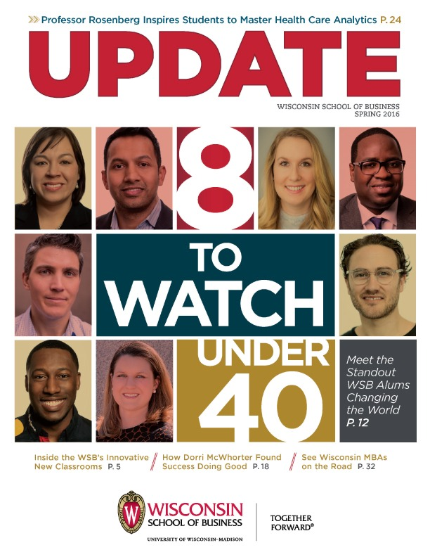 Cover of the Spring 2016 Update Magazine