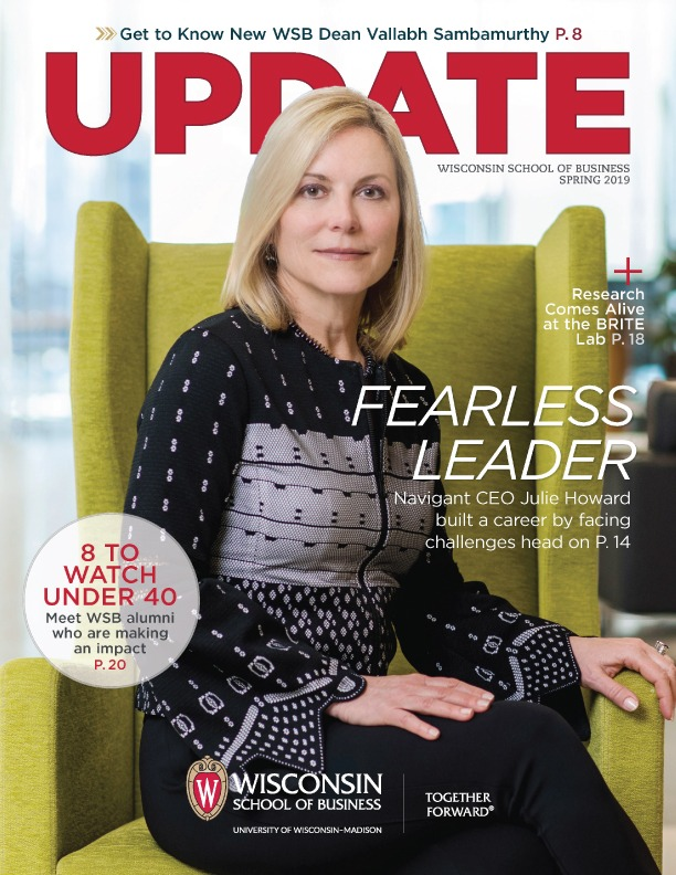 Cover of the Spring 2019 Update Magazine