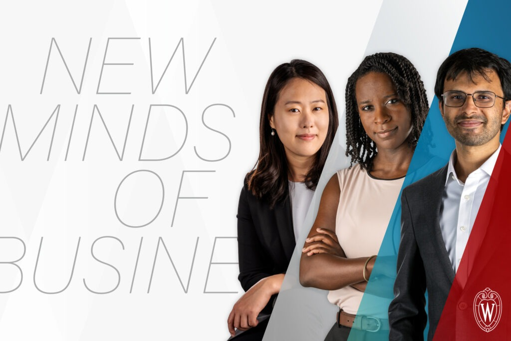 New Minds of Business - three new WSB faculty
